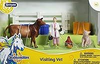 Breyer Stablemates Visiting Vet and Animals Set