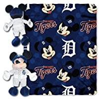 Northwest 1COB-03800-0176-RET Pitch Crazy-Tigers Dis-Mlb Hugger With Throw