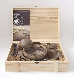 Kupilka(クピルカ) Wood Box with all Items フルセット 食器セット