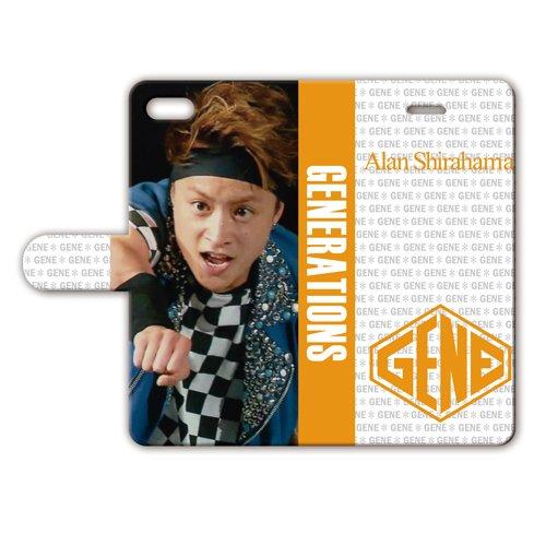 iPhone6/6s 手帳型ケース 【白濱亜嵐】 018...
