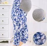 妊婦 7分ズボン XLサイズ マタニティ サブリナパンツ