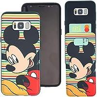 5ae37f853d Galaxy Note8 ケース/Disney Mickey Mouse ディズニー ミッキーマウス カード スロット ダブル バンパー ...