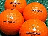【Aランク】【ロゴなし】ツアーステージ V10 スーパーオレンジ 2008年モデル 20個セット【ロストボール】