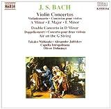 Bach: Violin Concertos; Double Concerto; Air on the G String by Takako Nishizaki (2006-08-01)