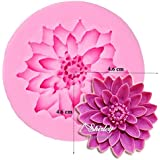Sungpunet Lotus Flower Silicone Fondant Cake Mould Chocolate Mould