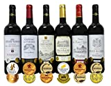 ALLダブル金賞受賞 赤ワイン6本セット フランス ボルドー産 ソムリエ厳選 750ml×6本