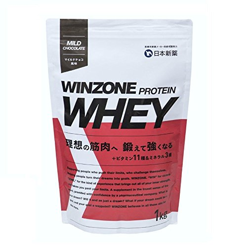 WINZONE ホエイプロテイン マイルドチョコ風味 1kg 日本新薬