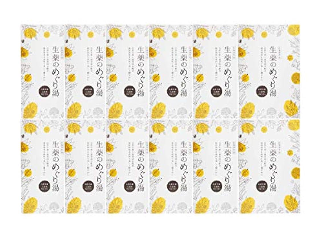 彫刻家封筒ショートカット松田医薬品 生薬のめぐり湯 30g 12個セット