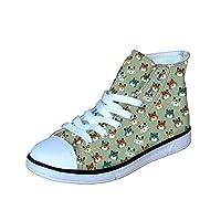 ThiKin かわいい スニーカー キッズ シューズ 女の子 男の子 靴 ジュニア デザイン 通気性 超軽量 日常 ファッション おしゃれ 個性的 3Dプリント プレゼント