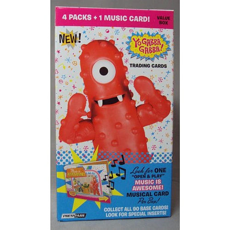 Yo Gabba Gabba Trading Card Value Box