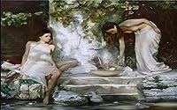 Yosot 3Dの壁紙写真壁紙カスタムリビングルームの壁画がロシアの女の子ツリーオイルペインティングウォール 3 用ソファテレビ壁紙 D-450Cmx300Cm
