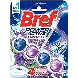Bref Power Active Lavender Field, Rim Block Toilet Cleaner, 50g, Lavender (2582550)