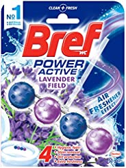 Bref Power Active Lavender Field, Rim Block Toilet Cleaner, 50g, Lavender (2582550)