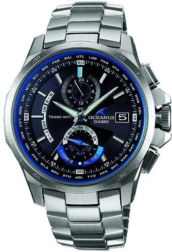 [カシオ]CASIO 腕時計 OCEANUS オシアナス タフソーラ- 電波時計 MULTIBAND 6 OCW-T1000-1AJF メンズ