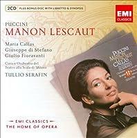 Puccini: Manon Lescaut by Maria Callas (2014-12-24)