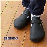 BIRKENSTOCK [ビルケンシュトック] LONDON nomal BLACK [166541] ロンドン・オイルドレザー【ノーマルタイプ:幅広】 BLACK,41