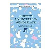 Alice in Wonderland Personalised Books by Personalised Memento Co [並行輸入品]