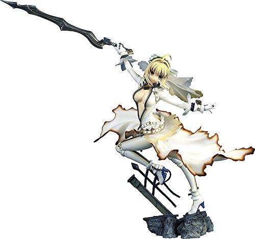 Fate/EXTRA CCC セイバー・ブライド 1/7スケール PVC製 塗装済み完成品フィギュア