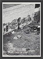 ポスター クリストファー ウール October 17 ? November 14 1992年 額装品 ウッドベーシックフレーム(ブラック)