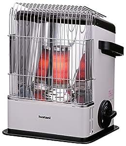 イワタニ カセットガスストーブ ハイパワータイプ 【熱溜め燃焼筒で効率よく暖かい・持ち運び簡単・屋内専用】 CB-STV-HPR2
