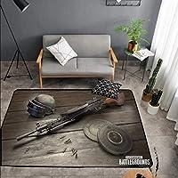 LLKOZZ カーペットのアニメデザイン長方形滑り止め吸収カーペット屋内テラス屋外 - マルチサイズモデルカーペット じゅうたん (Color : B, Size : 80cm×120cm)
