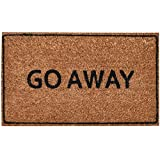 Ninamar Door Mat Go Away Natural Coir – 29.5 x 17.5 inch