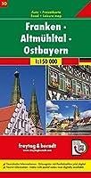 Franken - Altmuehltal - Ostbayern, Autokarte 1:150 000, Blatt 10