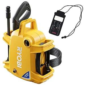 リョービ(RYOBI) 高圧洗浄機AJP-1210F オリジナル防水型スマートフォンケース付 4989774