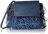 [ラウゴア] 【ラウゴア】フリンジショルダーバッグ/Lima カゴバッグ、ショルダー、フリンジ 0172-30005 7591 Blue&mix