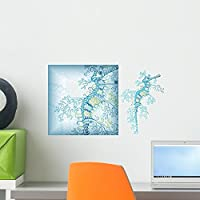 Sea Life 7 Wall Mural by Wallmonkeys Peel and Stick Graphic (18 in W x 11 in H) WM163474 [並行輸入品]