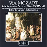 Serenades For 8 Wind Instrumen by WOLFGANG AMADEUS MOZART (1995-04-07)