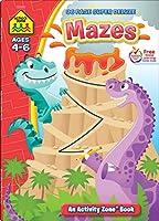 Super Deluxe Mazes (Activity Zone Book)