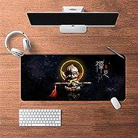 LL-COEUR 油絵 古代のスタイル オリエンタル 大型マウスパッド キーボード ゲーミング オフィス テーブルマット が良い 滑り止めゴム底(17)