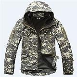 上海物語 フリース ミリタリー タクティカルジャケット XX-Large ACU Camouflage
