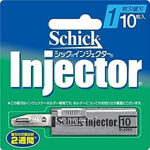 シック インジエクター 1枚刃 替刃 10枚入