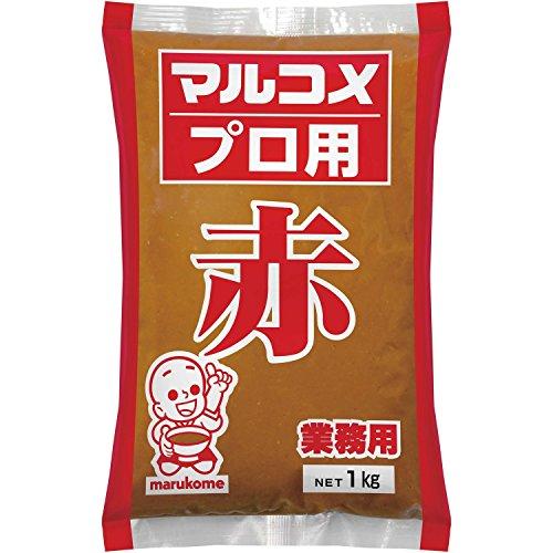 本場信州味噌 赤 1kg /マルコメ(2袋)