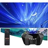 VSM Dream Aurora/Northern Light/Star Projector Light, Real Moon Like Projection, 5 in 1, Timer, Bluetooth Speaker, Brightness