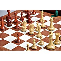 The Capablanca Chess Set and Board Combination by