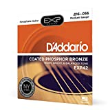 D'Addario ダダリオ アコースティックギター弦 EXPコーティング フォスファーブロンズ Resophonic Guitar .016-.056 EXP42 【国内正規品】