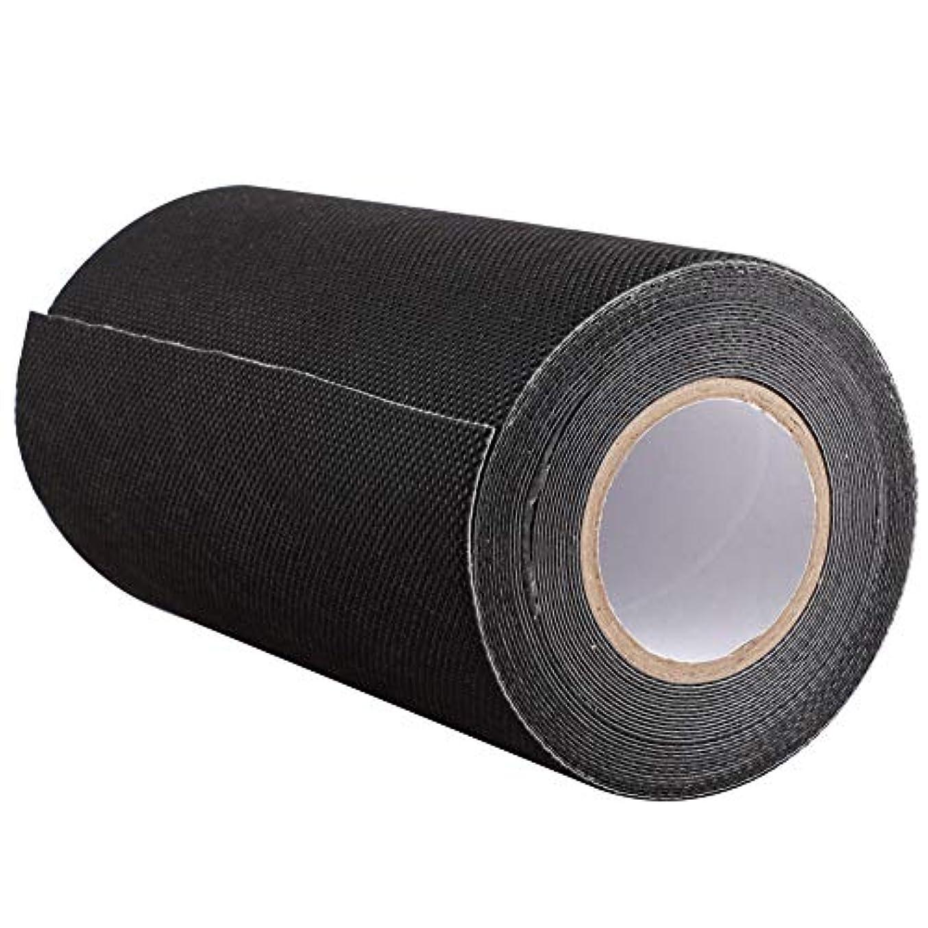 しない全体にここにDOMO 人工芝接着布 人工芝粘着テープ 芝スプライスベルト 15cm×5m ブラック