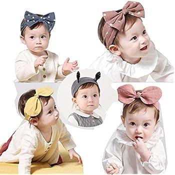 d3c75c2fca71f Emfay 赤ちゃん ベビー ヘアバンド ヘアリボン 髪飾り 髪留め カチューシャ ヘアアクセサリー 出産祝い 誕生