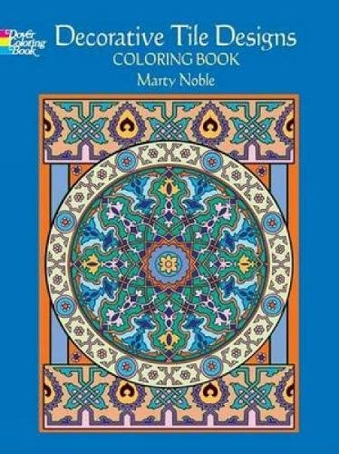 Decorative Tile Designs Coloring Book (Dover Design Coloring Books)