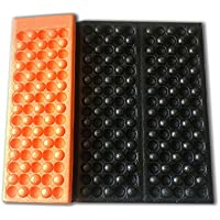 折りたたみサウナマット/レジャーマット防水マット 同色収納袋付き!(オレンジ)