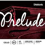 D'Addario ダダリオ チェロ弦 J1010 4/4M Prelude Cello Strings / Set (nickel A) 【国内正規品】