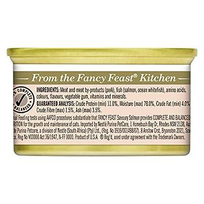 Fancy Feast Savoury Salmon, 24X85g