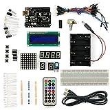 サインスマート Arduino(Uno) をはじめよう互換キット 初心者専用Arduino基本チュートリアルプロジェクト付き! 十種類選択可! (16プロジェクト、1602 LCD含む! )