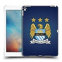 オフィシャルManchester City Man City FC フルカラー 黒曜石 モザイク クレスト・ピクセル iPad Pro 9.7 (2016) 専用ハードバックケース