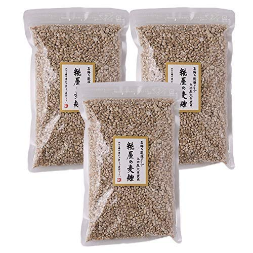 糀屋の麦麹350g 3個セット