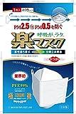 【PM2.5、PM0.5対応】楽マスク 1枚入 Mサイズ(個別包装、日本製)
