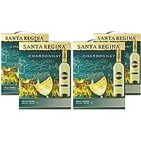 サンタ・レジーナ シャルドネ バッグインボックス 3000ml×4本 [チリ/白ワイン/辛口/ミディアムボディ/4本]